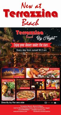 New at Terrazzina Beach by Night - Dinner under the stars - Every day from sunset till 2am