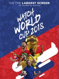 Watch the FIFA World Cup Matches on the largest screen in Sharm @ SOHO Square