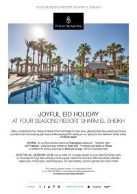 Joyful Eid Holiday at Four Seasons Resort Sharm El Sheikh