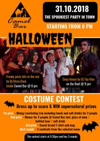 DRESS UP & WIN PRIZES - Scariest Halloween party in Sharm starting at 8pm