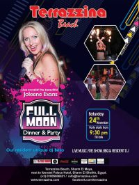 Full Moon Party on Saturday, November 24th @ Terrazzina Beach