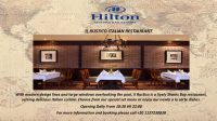 Il Rustico is a lively Sharks Bay restaurant serving delicious Italian cuisine @ Hilton Sharks Bay Resort