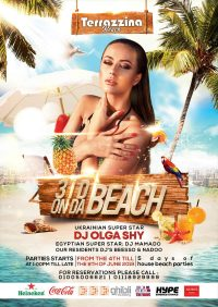 3 DJ on da beach - 5 days of House Beach Parties from June 4th @ Terrazzina Beach