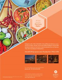 ALL YOU CAN EAT Curry Nights at Sala Thai Restaurant Hyatt Regency Sharm el Sheikh