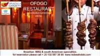 OFOGO Restaurant - Brazilian BBQ and South American specialties - Ghazala Gardens Hotel