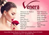 Full range of beauty treatments @ Venera Beauty Center & Spa
