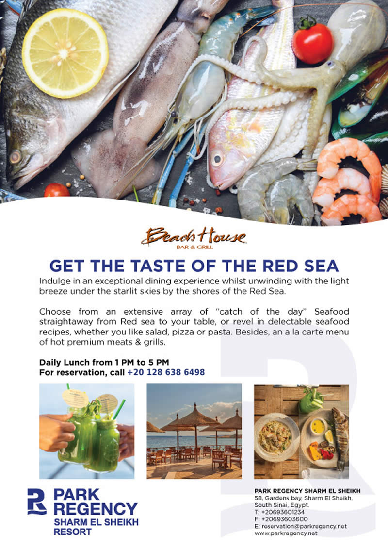 Get the taste of the freshest Seafood at Beach House - Park Regency